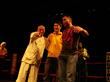 Cung Le, Jason Yee and Cung 's Coach Shawn Liu Xiangyang