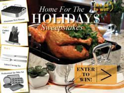 Oneida's Home for the Holidays Sweepstakes