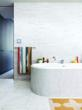 Dwell Founder Lara Deam's bathroom by architect/husband Chris Deam
