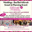 Celebrate! Party Showcase in Westchester November 18 - Fresh Ideas for...