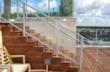 Frameless glass railing system represents another outstanding demonstration of the qualities and capabilities of DuPont™ SentryGlas®.