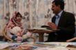 Malala Yousafzai with her father Ziauddin Yousafzai.