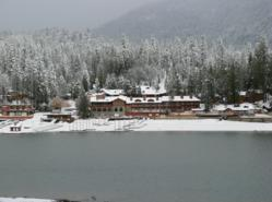The Pines Resort at Bass Lake is one of many properties offering Thanksgiving discounts and activities.