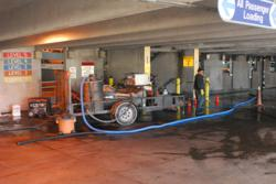 EPA Water Recovery In A Parking Garage