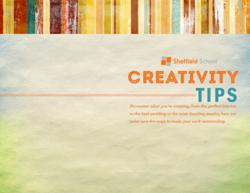 Creativity Tips by the Sheffield School