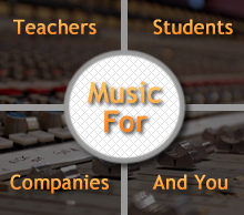 ATLProductionMusic - Music for teachers and students