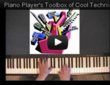 "Toolbox of Piano Styles - every piano player needs to develop a ""toolbox of styles"" to use to put a personal touch on their playing."