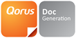 Qorus DocGeneration logo