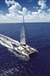 Four Seasons Resort Maui Guests board the Sailing Alii Nui for a two-hour whale watching tour.