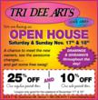 Tri Dee Arts is holding an open house this Nov. 17-18.