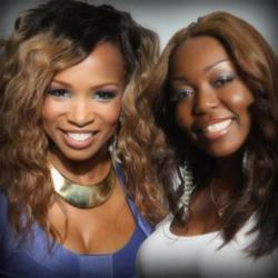 Actress Elise Neal and CLWW CEO Annette Jones -- Collaborators of Elise Neal's Hollywood Belle Collection by California Lace Wigs & Weaves New Hair Line