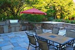Outdoor Kitchen Bar Spa NJ