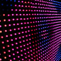 RGB LED pixel lighting