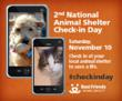 2nd Annual National Animal Shelter Check-in Day helps Local Shelters...