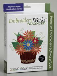 Designer's Gallery and AccuQuilt will launch EmbroideryWorks™ in early 2013, an easy editing embroidery software with over 100 built-in AccuQuilt GO!® fabric cutting shapes.
