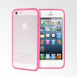 Lollimobile Frost Series iPhone 5 Cases - Hot Pink