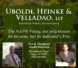 Uboldi, Heinke & Velladao, a Napa Tax and Audit Firm Supports Napa's Salvation Army Throughout the Holidays