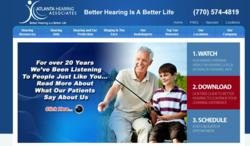 Hearing Aids Atlanta - Atlanta Hearing Associates Website