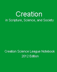 Creation in Scripture, Science, and Society Cover