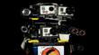 2 POV Action Cameras on Helmet