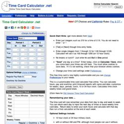 time card calculator, holiday workforce, holiday workers, holiday work season, employee time card