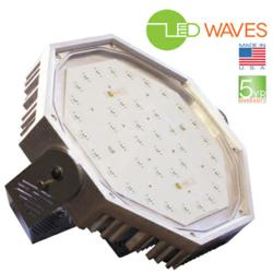 LED high bay light made in the USA 5 year warranty