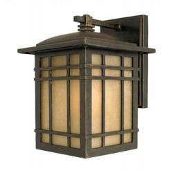 Hillcrest Imperial Bronze Outdoor Wall Light