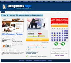Sweepstakes Draws Main Page