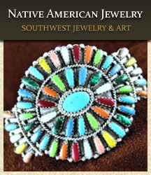 American Indian jewelry styles