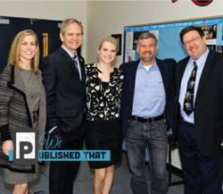 Child Safety Advocates Gary Martin Hays, Mary Ellen Fulkus, Elizabeth Smart, Ed Smart and Steve Daley.