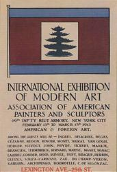 Poster for the 1913 Armory Show