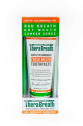 TheraBreath® Toothpaste does not require the use of water.