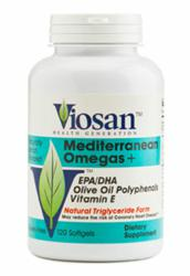 Viosan Health's Omega-3 Fish Oil Supplement