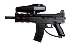 tippmann x7 with response trigger paintball gun
