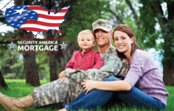 Security America Mortgage offers VA Home Loans to Veterans.