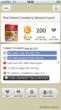 Shows product rating, brief explanations, and lets users choose healthier alternatives