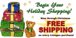 Free Shipping on All French Limoges Boxes www.LimogesBoxCollector.com