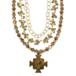 Bella Rose Jewelry with Antique Medals for Jewelry Trunk Show