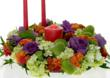 Triadic color harmony - beauty for your table centerpiece