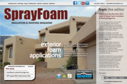 Exterior Spray Foam Applications closed-cell polyurethane foam insulation roofing