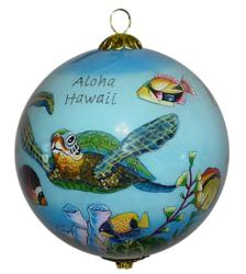Green Sea Turtle Hawaiian ornament from Maui by Design