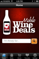 wine deals on your smartphone