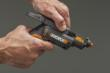 WORX SD SemiAutomatic Driver rotates bits as needed.