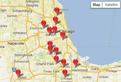 Auto Insurance quotes locations in Chicago Illinois