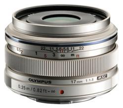 Olympus 17mm f/1.8 lens