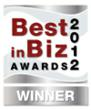 Best in Biz Awards 2012 silver logo