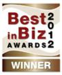 Best in Biz Awards 2012 bronze