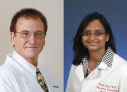 Dr. Geoffrey Sher and Dr. Molina Dayal