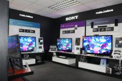 Sony televisions on display at Simply Electricals