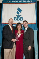 Steve Sumner Attorney at Law BBB Business of Integrity Award for Customer Service